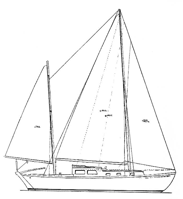 Line Drawing Yacht : Drawing boat cake ideas and designs
